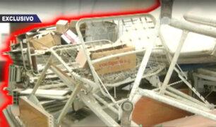 Hospital Desmantelado : Una más de Chim Pum Callao en el Gobierno Regional