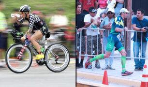 """Exitosa competencia de triatlón """"Iron Man 70.3 Perú"""" generó caos vehicular"""