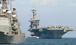 Corea del Norte advirtió que está listo para atacar portaaviones de EE.UU