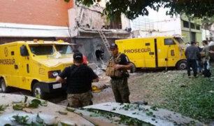 50 sujetos armados asaltan oficinas de Prosegur y se llevan US$ 40 millones