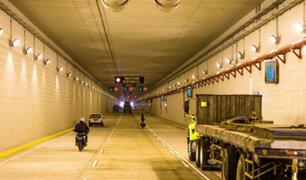 Callao: conductores conformes con funcionamiento de túnel de avenida Gambetta