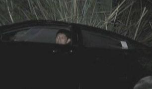 Conductor salió ileso tras accidente vehicular en Chorrillos
