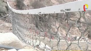 Chosica: denuncian a funcionario que instaló mallas