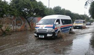 Lluvias provocan aniegos en varias zonas de Trujillo