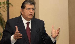 Alan García: Torpe intento humalista para distraer crimen de Madre Mía