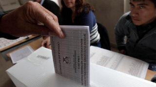 Ejecutivo plantea proyecto de reforma electoral