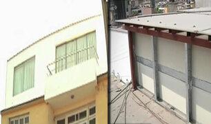 Denuncian a vecino de adueñarse de área común de edificio en La Victoria