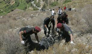 Tres muertos deja choque de camiones en el Cusco
