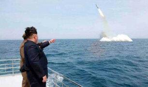 Corea del Norte prueba nuevo misil pese a tensiones con EEUU
