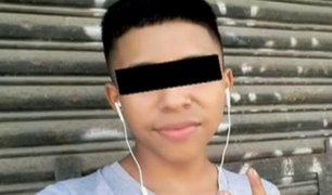 La Victoria: balean a adolescente y lo abandonan en la calle