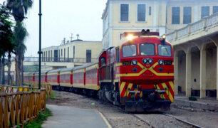 Ferrocarril Central Andino partirá nuevamente el 25 de mayo