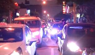 Obras generan gran congestión vehicular en avenida Petit Thouars