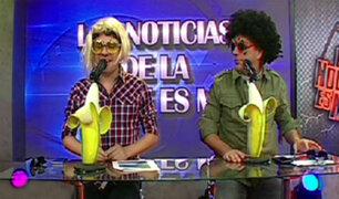 """""""La Noche Es Mía"""" estrenó peculiar segmento de noticias"""