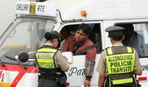 Lima: estudio reveló que el 54% de conductores infractores sufren ansiedad