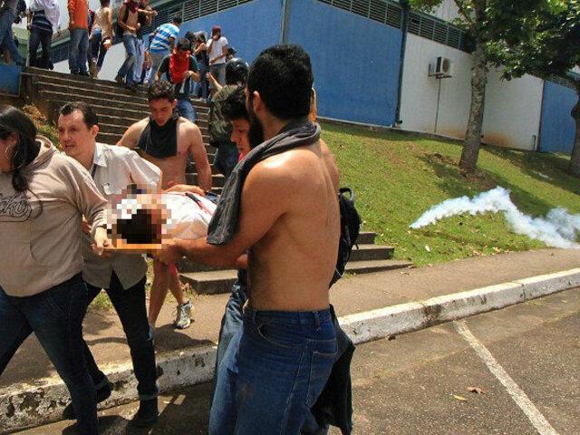 Venezuela: protestas estudiantiles contra Nicolás Maduro dejan 21 heridos