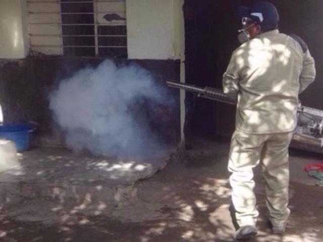 La Libertad: 100 mil casas fueron fumigadas para prevenir el  dengue