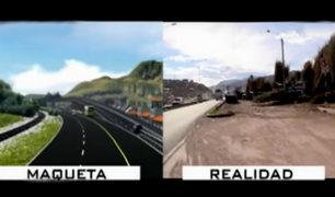Odebrecht: Vía de Evitamiento del Cusco se encuentra inconclusa y sobrevalorada