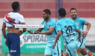 Deportivo Municipal perdió 1-0 ante UTC por Torneo de Verano