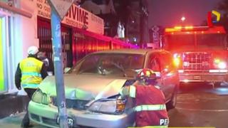 Santa Beatriz: médicos heridos tras explosión en auto