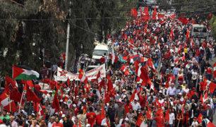 Con diversas actividades miles conmemoran el Día Internacional del Trabajo