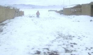 España sufre primeras nevadas de otoño