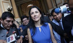 Nadine Heredia hoy ante fiscal por los US$ 3 millones de Odebrecht