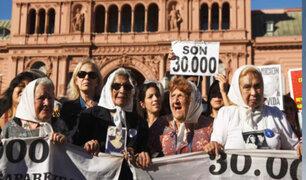 """Argentina: """"Madres de Plaza de Mayo"""" conmemoraron los 40 años de lucha por los desaparecidos"""