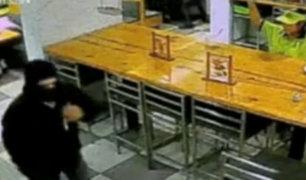 San Luis: ladrones asaltan restaurante y se llevan más de 6 mil soles