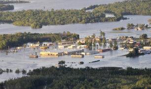 EE.UU.: tormentas e inundaciones se registraron en Arkansas y Missouri