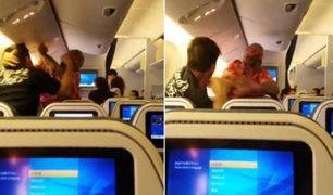 Se registró pelea en pleno vuelo hacia Los Ángeles