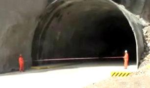 Matucana: túnel inaugurado por PPK continúa clausurado