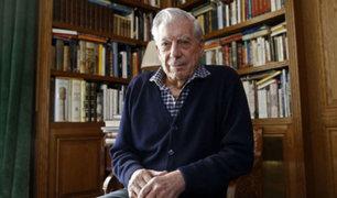 """Mario Vargas Llosa: """"Fin de la dictadura venezolana está cerca"""""""