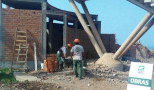 San Isidro clausuró obra abandonada por Municipalidad de Lima