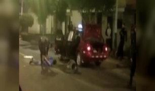 Callao: PNP captura a banda de asaltantes tras balacera