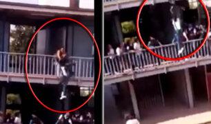 """Escolar se lanza de edificio por reto de """"La Ballena Azul"""" en México"""