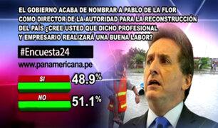 Encuesta 24: 51.1% en desacuerdo con autoridad que dirigirá la reconstrucción del país