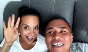 Mónica Cabrejos defiende su relación y responde a críticas de sus detractores