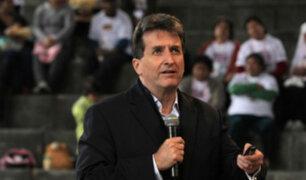 Pablo de la Flor: Reconstrucción estará blindada de la corrupción