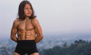 Así luce ahora el famoso 'niño Hércules' 17 años después de volverse famoso