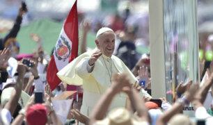 Invitarán nuevamente al papa Francisco para visitar Perú