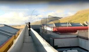 Máxima seguridad: trasladan a reos a penal de Cochamarca en Cerro de Pasco