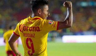 Ruidíaz anotó gol victorioso de Morelia ante Monterrey