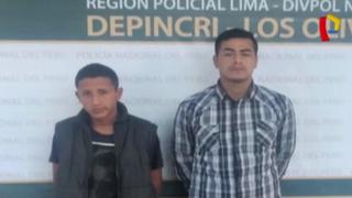 Los Olivos: detienen a asaltantes tras intensa persecución
