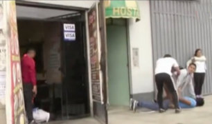 Chilca: sujetos capturados serían miembros de banda extorsionadora 'Los Rucos'
