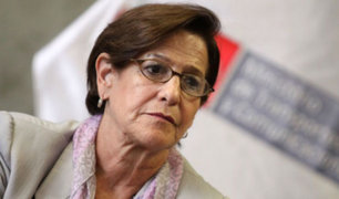 Realizan plantón frente a Ministerio Público en contra de Susana Villarán