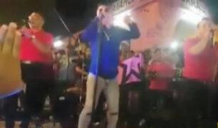 Callao: revelan nuevas imágenes de balacera en concierto