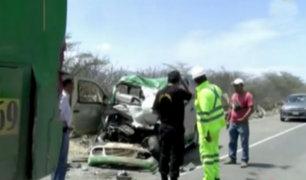 Accidentes de tránsito cobraron vidas en Jaén, Arequipa y Chanchamayo