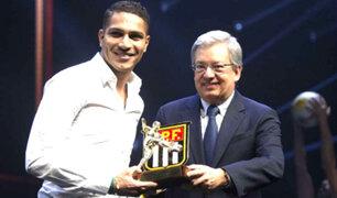 Paolo Guerrero fue elegido como el mejor jugador del Torneo Carioca