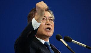 Liberal Moon Jae-in sería el nuevo presidente de Corea del Sur