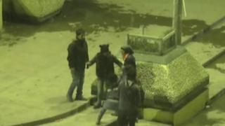 Cerro de Pasco: cámara de seguridad capta pelea entre jovencitas